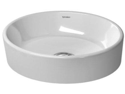 Countertop ceramic washbasin STARCK 2 | Ceramic washbasin - DURAVIT