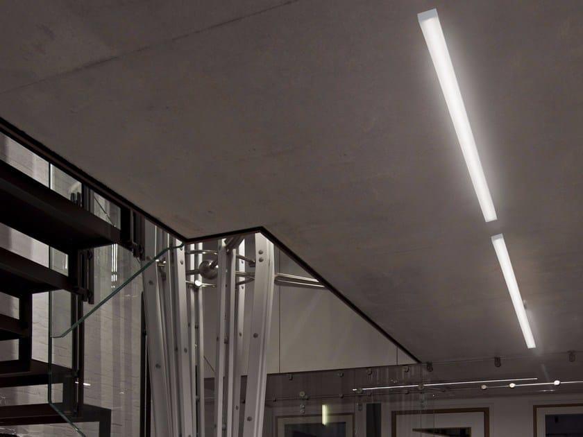 Lampada da soffitto a luce diretta in alluminio estruso STARDBOARD - GLIP by S.I.L.E