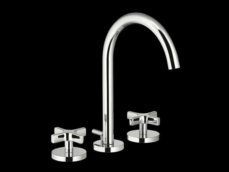 3 hole countertop washbasin tap STARFLÒ | Countertop washbasin tap - Signorini Rubinetterie