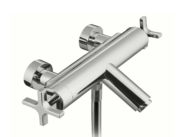 Wall-mounted bathtub tap STARFLÒ | Bathtub tap - Signorini Rubinetterie