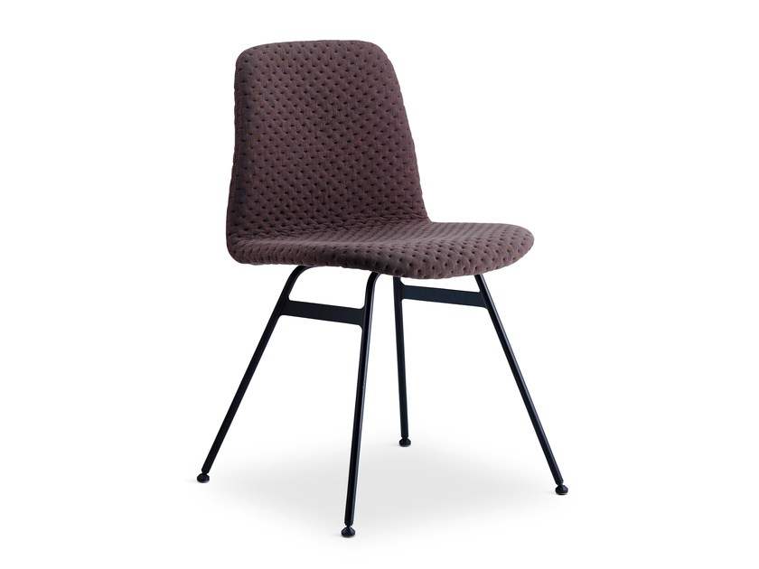 Upholstered fabric chair STEEL COPILOT CHAIR | Fabric chair - dk3