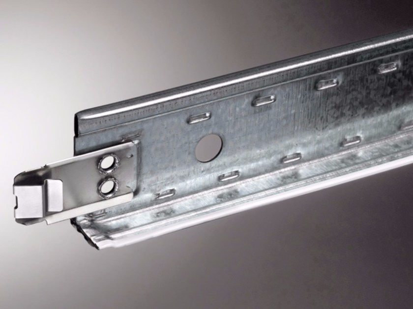 Frame and accessory for suspended ceiling STEEL STRONG  EASY BASE 24 ANTISEISMIC by atena