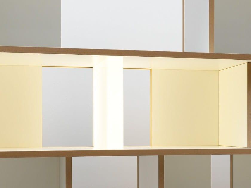 Acrylic glass LED furniture lighting STELL | Furniture lighting - Tojo Möbel