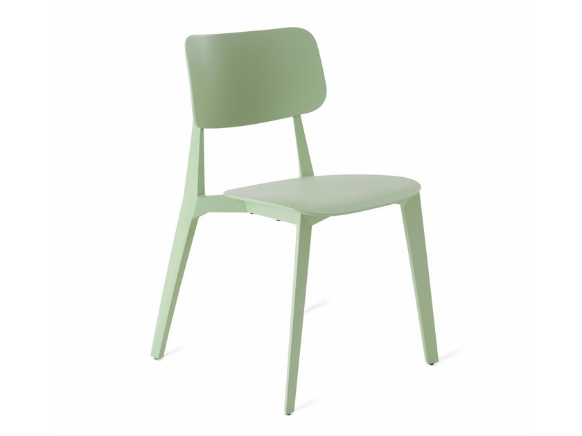 Stackable plastic chair STELLAR | Plastic chair - KUBIKOFF