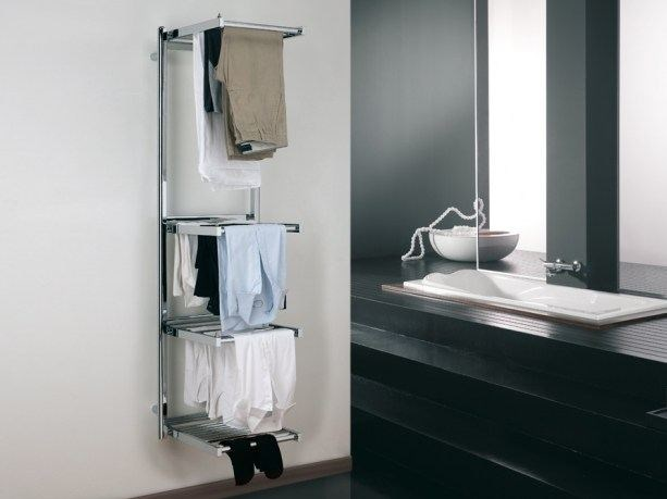 Swivel electric towel warmer STENDY ELECTRIC PLUS by DELTACALOR