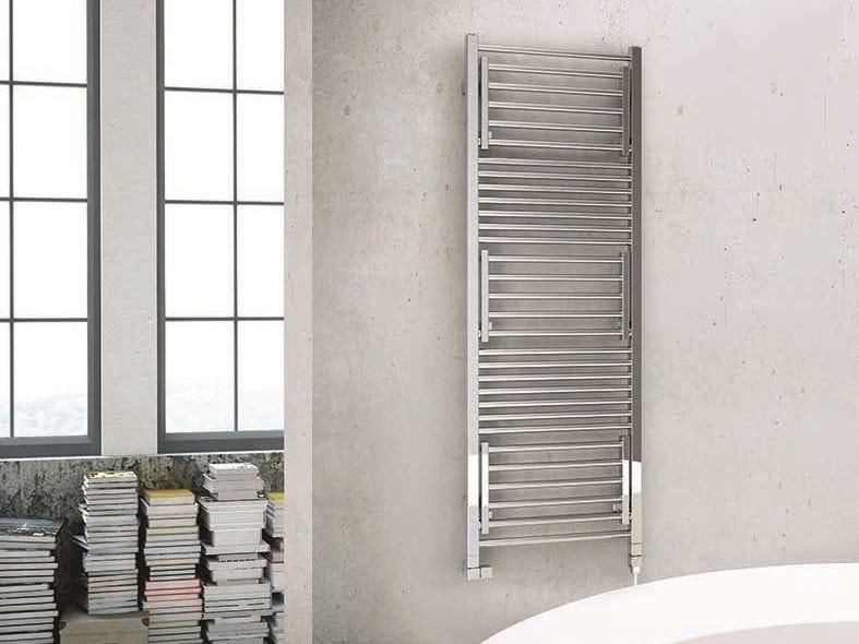 Swivel electric towel warmer STENDY SHORT ELECTRIC - DELTACALOR