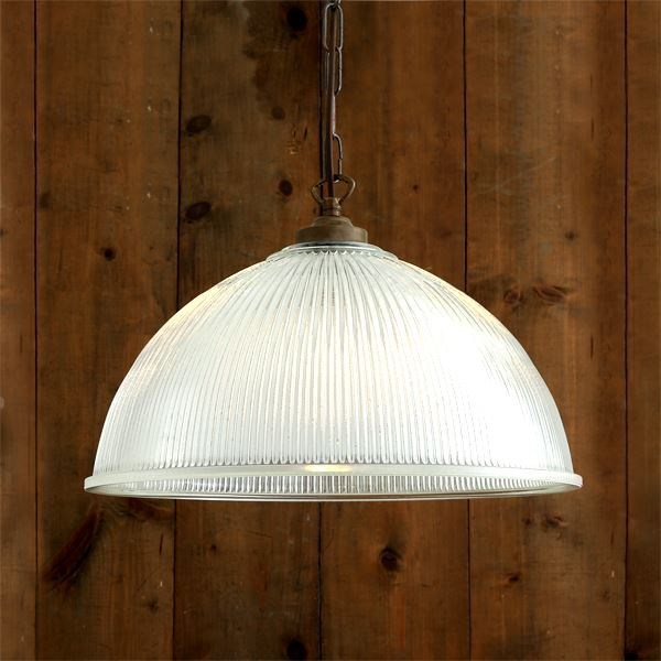 Direct light handmade pendant lamp STENTON HOLOPHANE PENDANT - Mullan Lighting