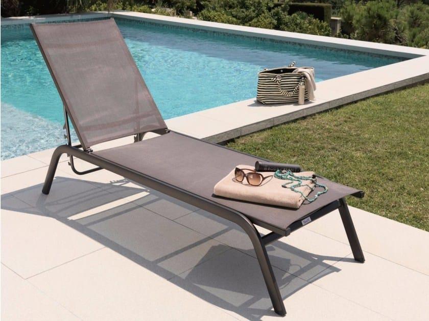 Recliner textilene garden daybed STEP | Garden daybed - Talenti