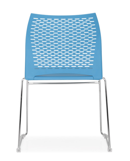 Sled base stackable chair STEP | Sled base chair - Quinti Sedute
