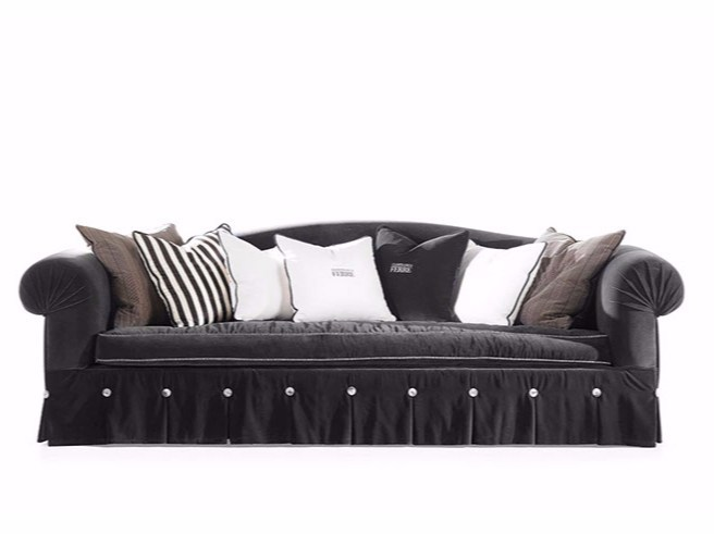stephany 3 seater sofa by gianfranco ferr home. Black Bedroom Furniture Sets. Home Design Ideas
