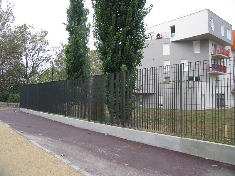 Grating fence STEROPE® 3 by NUOVA DEFIM