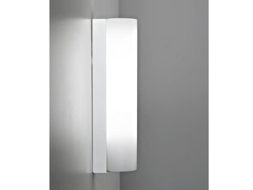 LED glass wall lamp STICK 80   Wall lamp by Ailati Lights