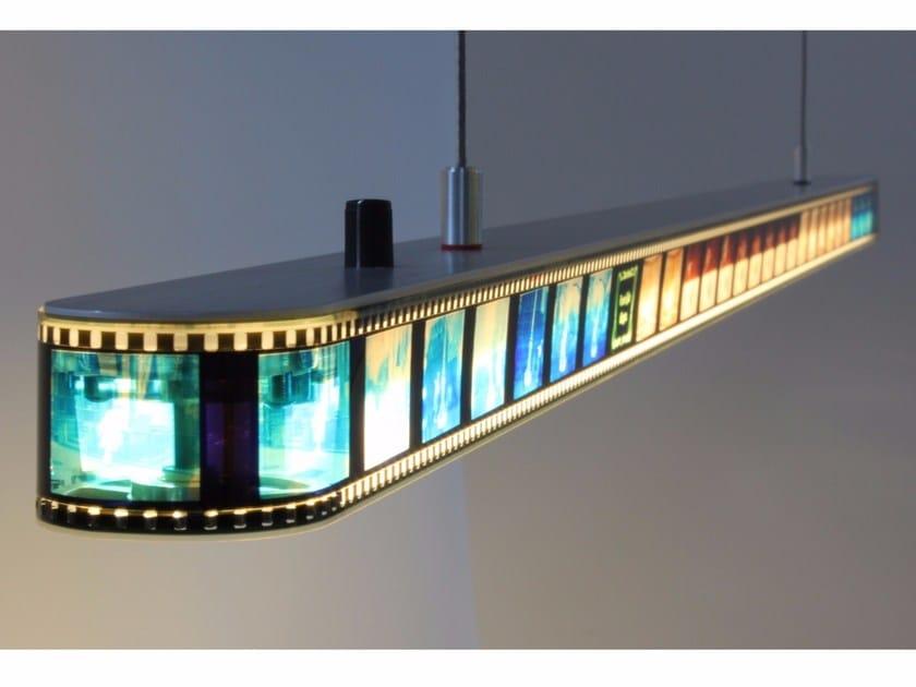 Lampada a sospensione in alluminio STILL MOVING - Quasar