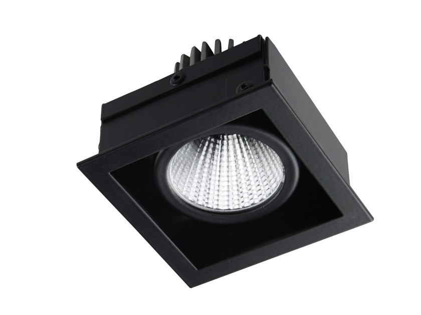LED square recessed steel spotlight STIP 1 - LED BCN Lighting Solutions