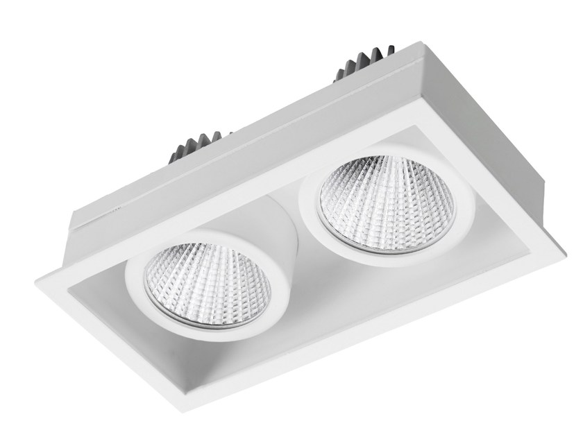 LED rectangular recessed steel spotlight STIP 2 - LED BCN Lighting Solutions