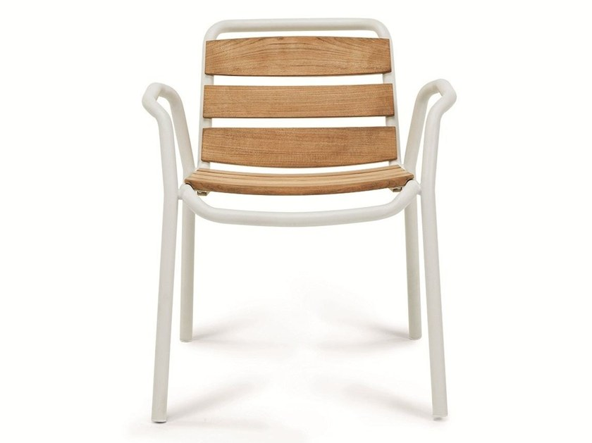 Stackable garden chair STITCH by Ethimo