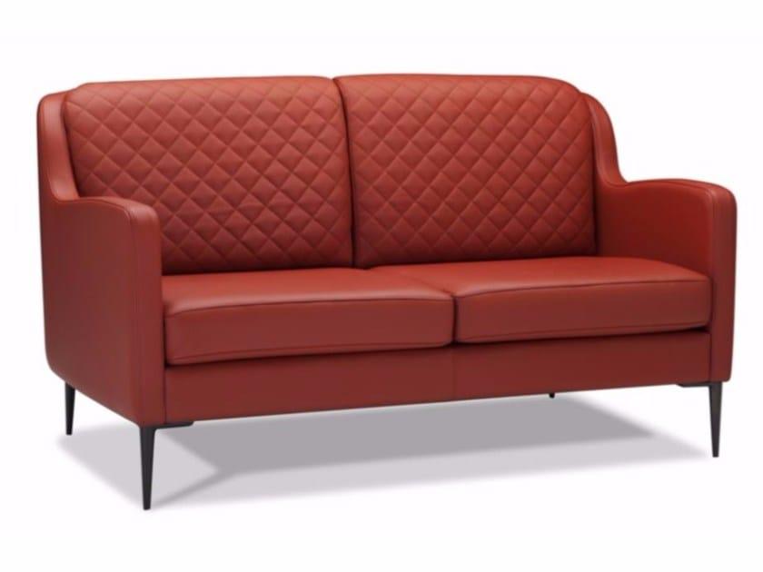 2 seater leather sofa STIXX | Sofa - Canapés Duvivier