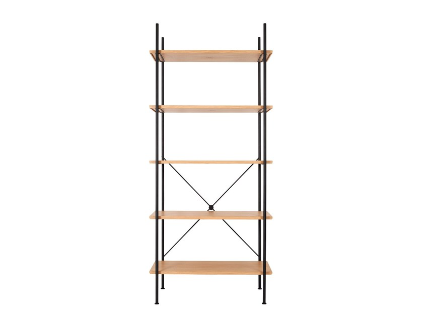 Open shelving unit STOCK by Novel Cabinet Makers