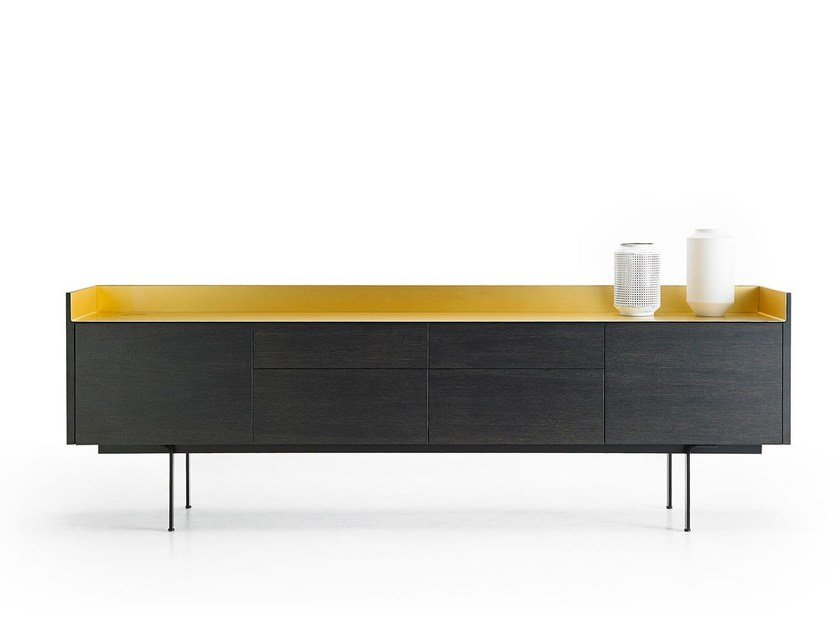 Wooden sideboard with doors STH412 | Sideboard with drawers - Punt