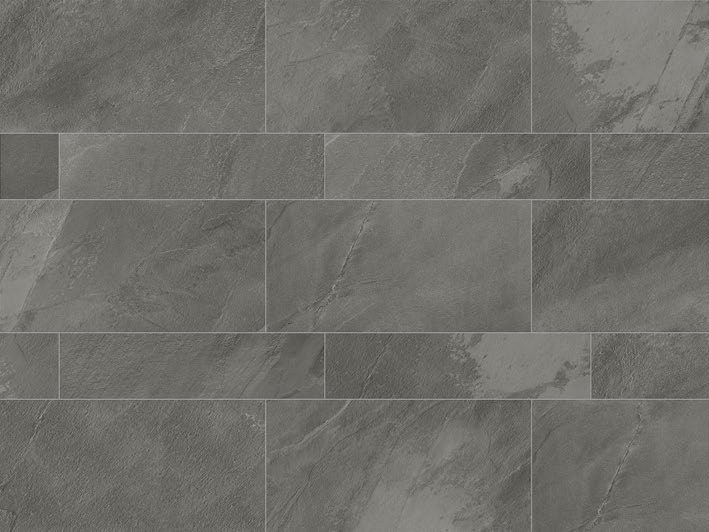 Pavimento in gres porcellanato a tutta massa per interni ed esterni STONE PLAN Lavagna grigia by Italgraniti
