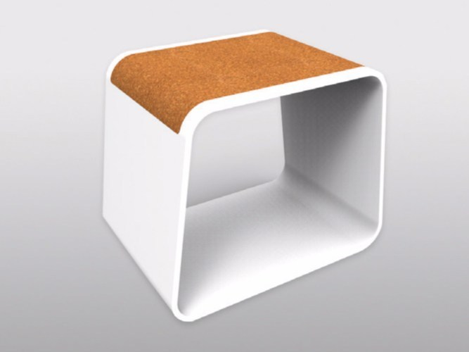 corian stool coffee table stool by ama design. Black Bedroom Furniture Sets. Home Design Ideas
