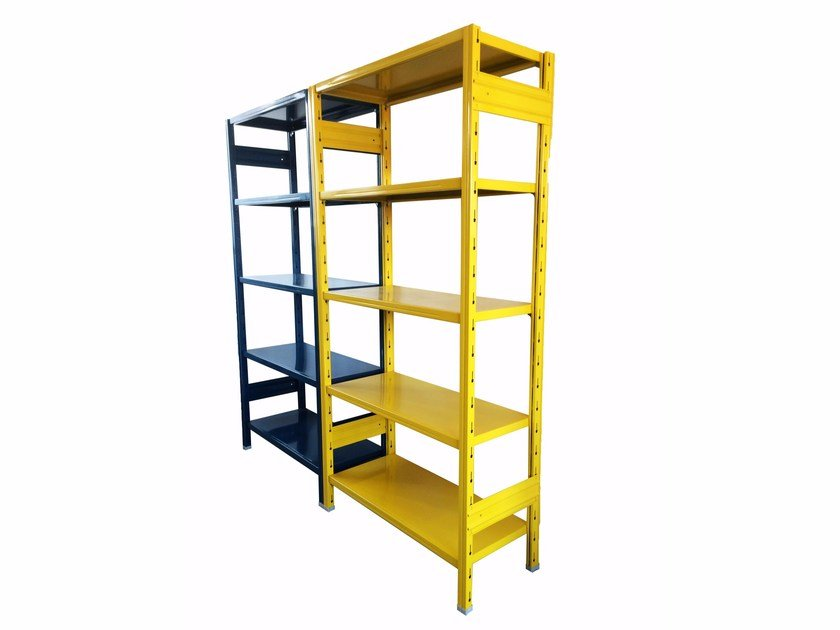 Painted metal shelveing system STORETS - Castellani.it