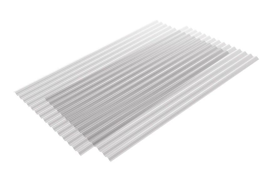 Roof panel in opaque plastic laminate ONDUCLAIR PC | Roof panel in translucent plastic laminate by ONDULINE ITALIA