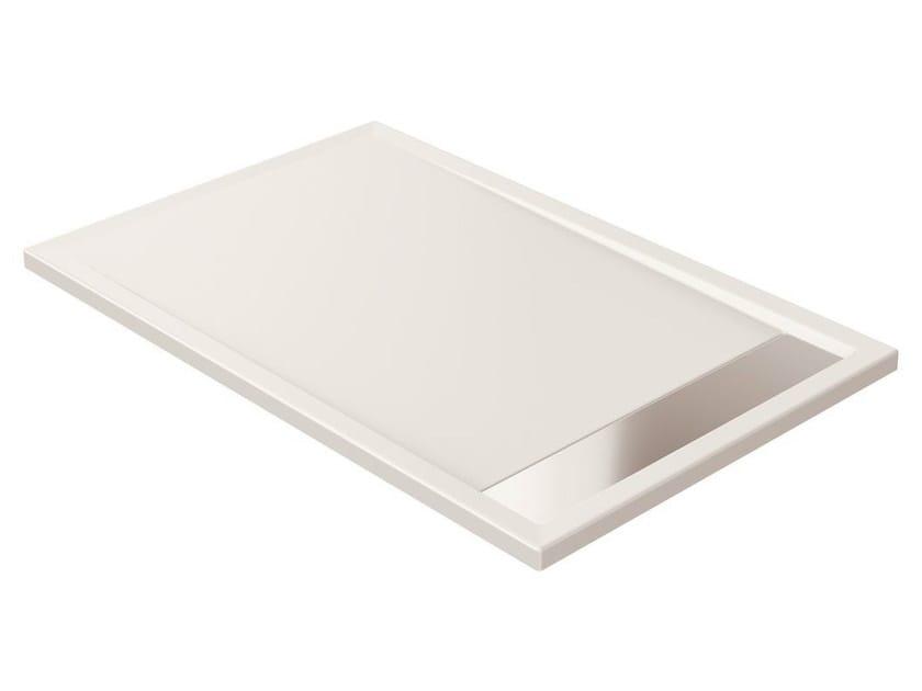 Anti-slip rectangular extra flat acrylic shower tray STRADA - K2626 - Ideal Standard Italia