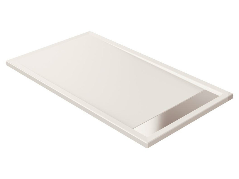 Anti-slip rectangular extra flat acrylic shower tray STRADA - K2627 - Ideal Standard Italia