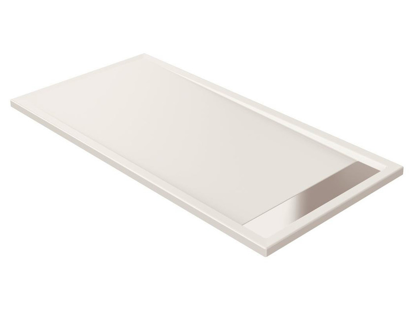 Anti-slip rectangular extra flat acrylic shower tray STRADA - K2629 - Ideal Standard Italia