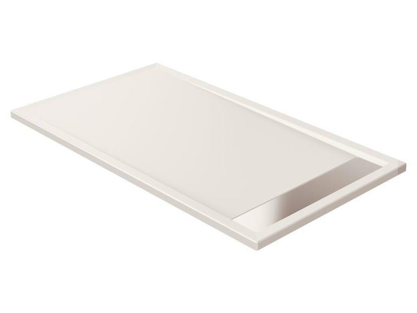 Anti-slip rectangular extra flat acrylic shower tray STRADA - K8098 - Ideal Standard Italia