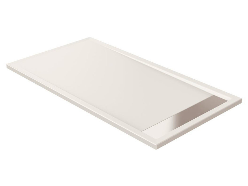 Anti-slip rectangular extra flat acrylic shower tray STRADA - K8099 - Ideal Standard Italia