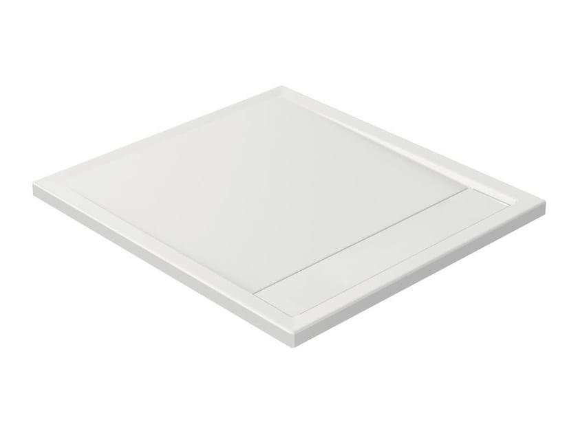 Anti-slip rectangular extra flat acrylic shower tray STRADA - K8155 - Ideal Standard Italia