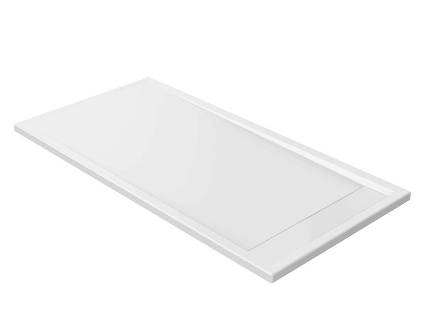 Anti-slip rectangular extra flat acrylic shower tray STRADA - K8162 - Ideal Standard Italia