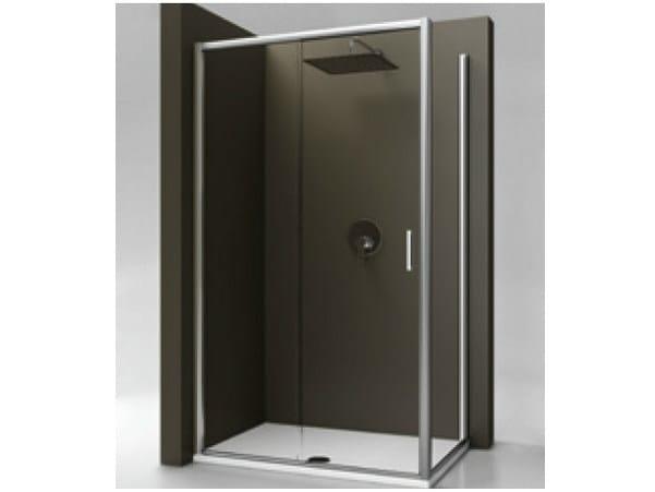 Box doccia in vetro temperato strada mod l ideal standard - Cabine doccia multifunzione ideal standard ...