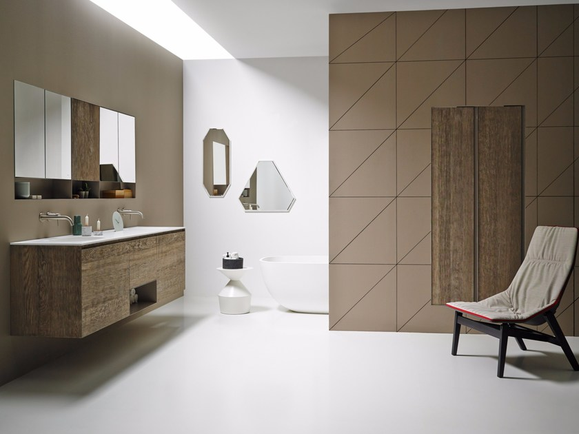 Bathroom furniture set STRATO 08 - INBANI