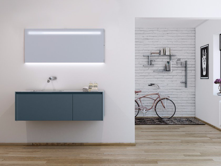 Bathroom furniture set STRATO 17 by INBANI