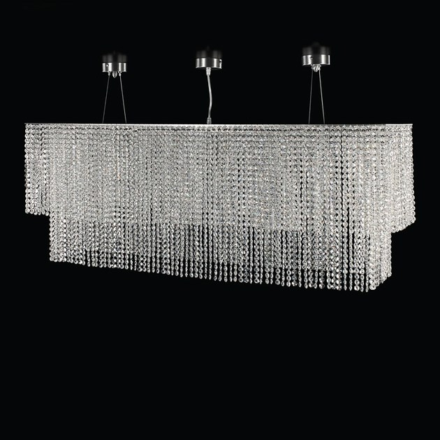 LED crystal pendant lamp STRATUS R | Pendant lamp by MULTIFORME
