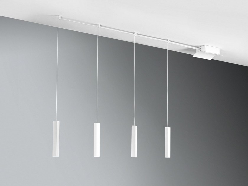 LED metal pendant lamp STRECH - Cattaneo Illuminazione