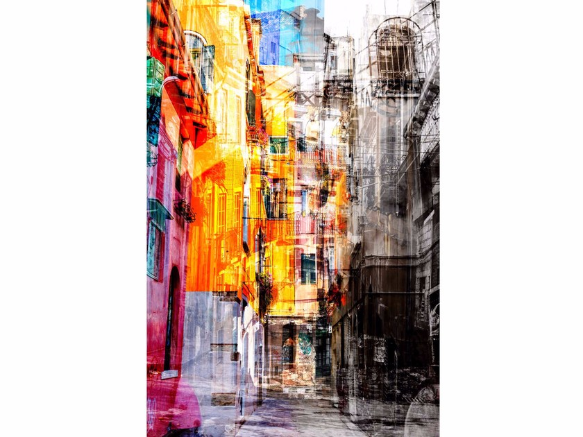 Photographic print STREET FADE - FINE ART PHOTOGRAPHY by 99 Limited Editions