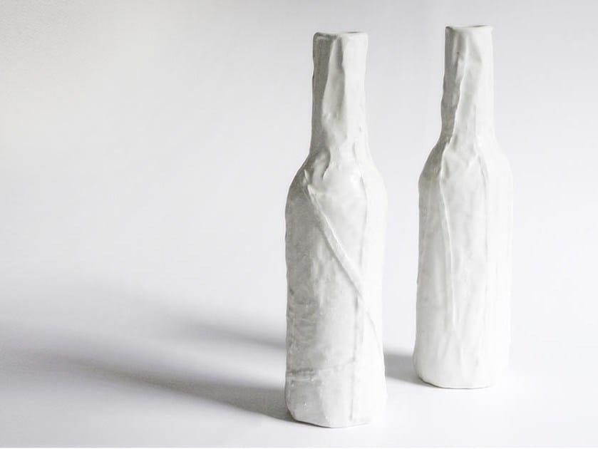 Ceramic bottle STRIP - N.O.W. Edizioni