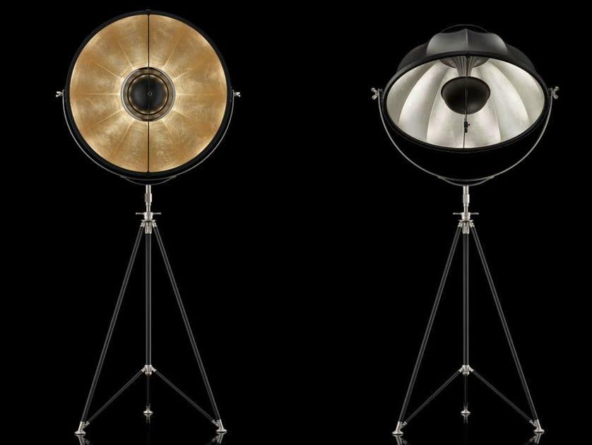 Indirect light adjustable floor lamp STUDIO 76 - Fortuny® by Venetia Studium