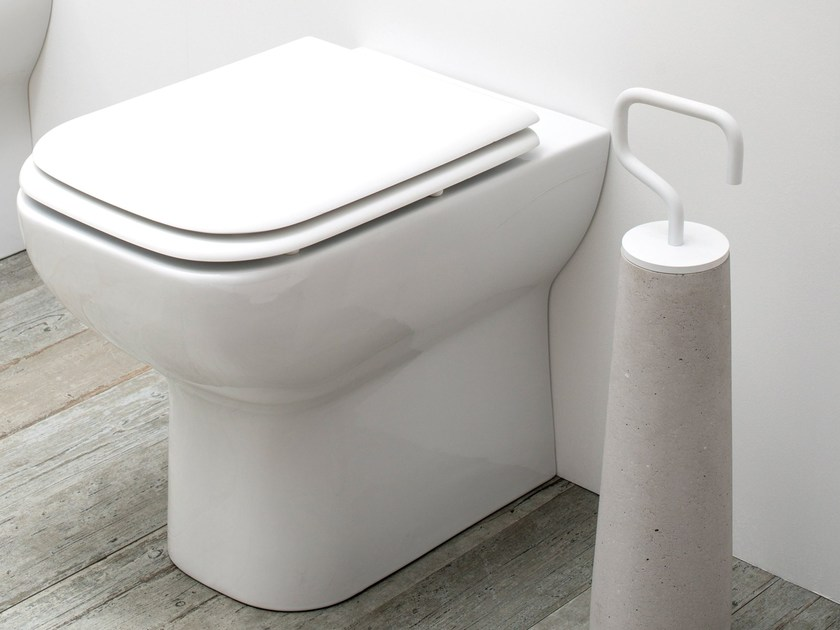 Porcelain toilet STYLE 47 - EVER by Thermomat Saniline