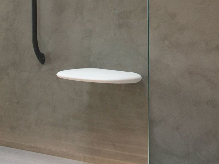Folding shower Seat STYLE ECLYPSE - EVER by Thermomat Saniline
