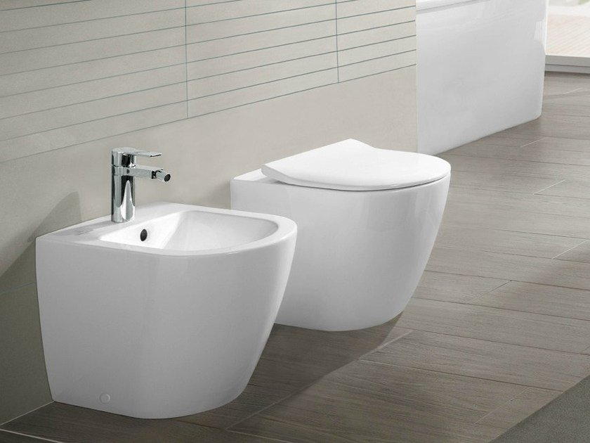 bidet in ceramica subway 2 0 bidet villeroy boch. Black Bedroom Furniture Sets. Home Design Ideas