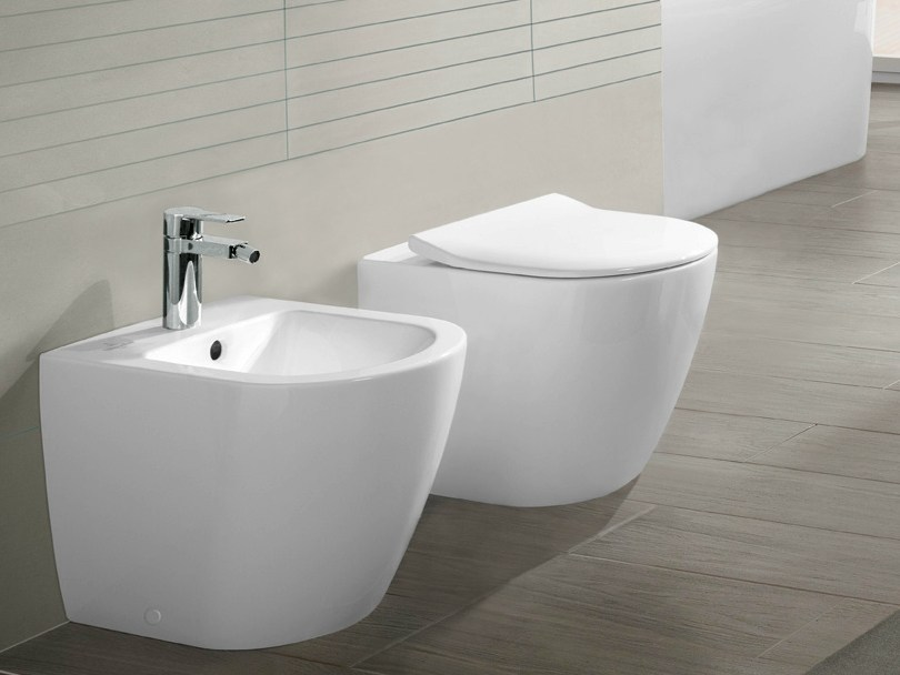 wc a pavimento in ceramica subway 2 0 wc villeroy boch. Black Bedroom Furniture Sets. Home Design Ideas