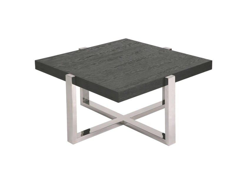 Square coffee table SUDOESTE | Square coffee table - Branco sobre Branco