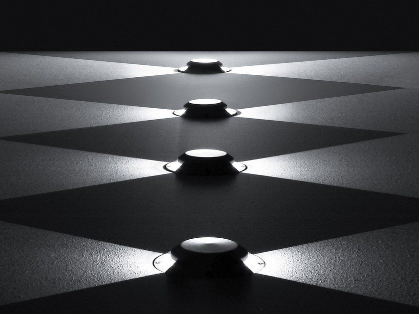 LED extruded aluminium steplight SUIT by SIMES