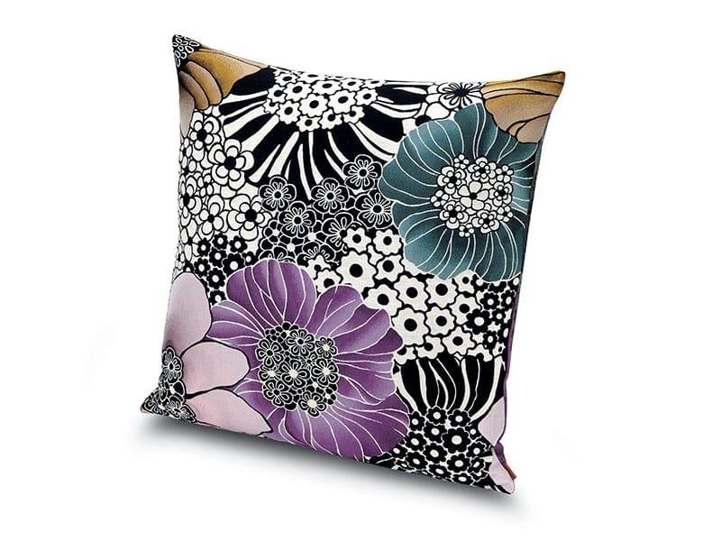 Square fabric cushion SULAWESI | Cushion by MissoniHome