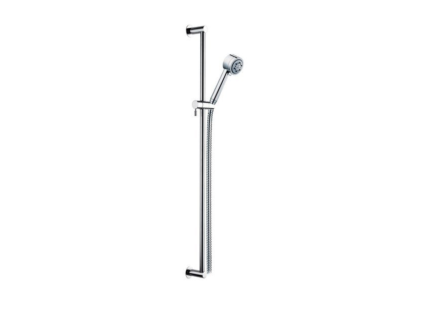 Shower wallbar with hose with overhead shower SULLY | Shower wallbar - rvb